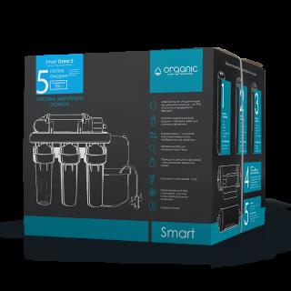 Organic Smart Osmo 5 — cистема обратного осмоса  - aquafilter.com.ua 2