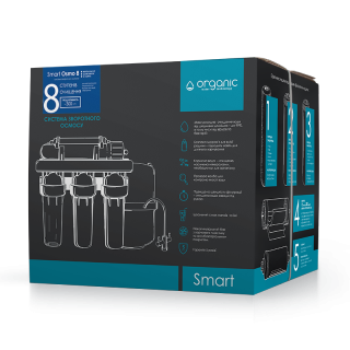 Organic Smart Osmo 8 — система обратного осмоса  - aquafilter.com.ua 2
